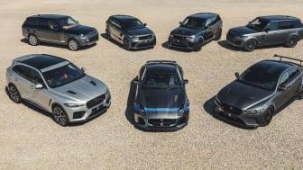 Efterspørgslen efter Jaguar og Land Rover superbiler stiger