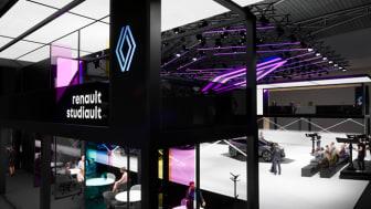 Renault Studiault - Nytt messestand-konsept