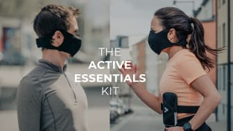 The first face mask designed for active people is launched in Sweden by WeWork members