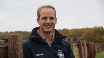 Henrik Ankarcrona ser stora möjligheter med det nya samarbetet. Foto: Svenska Ridsportförbundet