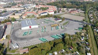 LaddAlliansen påbörjar byggnationen av bussdepån i Malmö