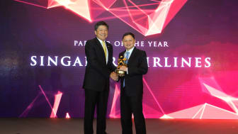 Singapore Airlines named Partner of the Year