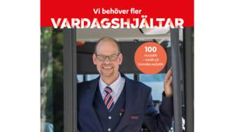 100 nya bussförare och mekaniker behöver rekryteras i Umeåregionen de tre kommande åren
