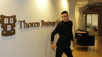 Thoren Business School-elev gör succé på nätet