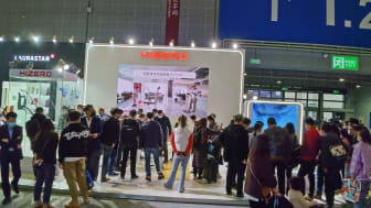 Hizero was a huge hit at the recent AWE trade show in Shanghai with the booth attracting over 20,000 visitors in two days and hundreds of trade customer leads opened