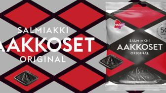 Aakkoset Original Salmiakki – klassikko tekee paluun 50-vuotisjuhlavuoden kunniaksi!