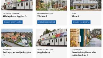 Nya bygglovssidor i Sollentuna gör den enklare att söka bygglov.