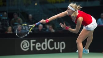 Fed Cup till Helsingborg Arena. Foto: Graham Hughes/THE CANADIAN PRESS