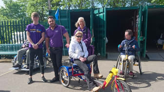 Young stroke survivor Connor Lynes joins the Stroke Association to Make May Purple in Hull