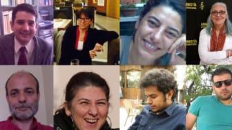De tio människorättsförsvararna, även kända som Istanbul10
