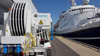 Cruising towards clear skies: the Cavotec AMPMobile unit at Montreal's cruise terminal