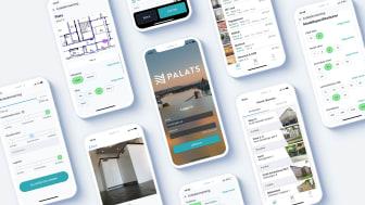 Higate levererar appen Palats för ett smidigt sätt att hantera, använda och återanvända material och inventarier. / Bild: Higate