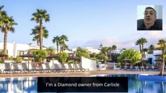 European Consumer Claims, ECC client testimony. Chris Wood. Diamond Resorts claimant