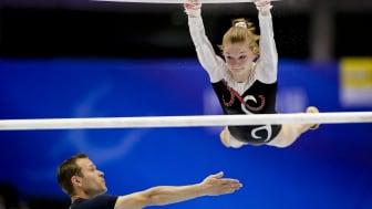 Gymnasten Ida Gustafsson till barrfinal i världscupen i Cottbus (Challenger Cup)