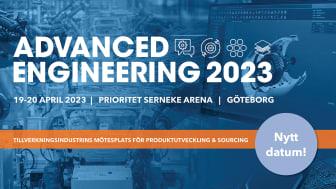 Advanced Engineering Göteborg flyttar fram till april 2023