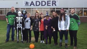 Halloween Hits Adder's Global HQ