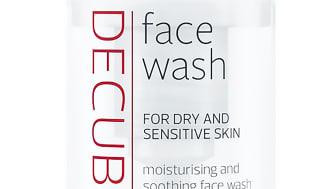 Höstens nyhet från Decubal – återfuktande och lugnande Face Wash