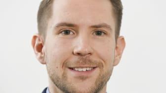 Dani Lindberg, Viking Lines nya hållbarhetschef. Foto: Viking Line/Daniel Eriksson