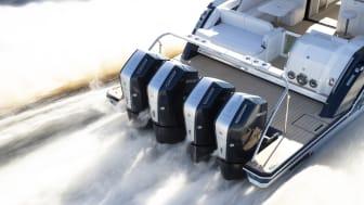 Den nye V12 600 hk Verado fra Mercury Marine er helt sin egen