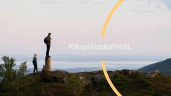 Stop Hate for Profit-kampanjen har bidratt til at Facebook må ta grep for å hindre spredning av hatefulle ytringer, desinformasjon og annet skadelig innhold.. Foto: Bergans