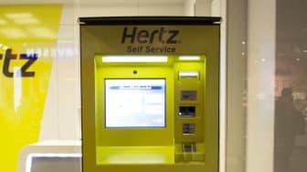 Heldigital og døgnåpen bilutleie hos Hertz