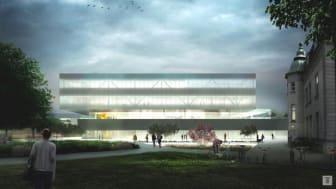 Byggstart för ny servicebyggnad på Malmö sjukhusområde