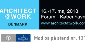 MØD VILLEROY & BOCH PÅ ARCHITECT@WORK