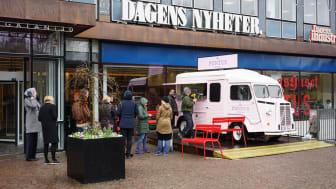 Pontus Frithiof rullar ut ett nytt koncept på Stockholms gator