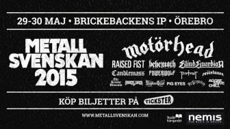 Ny musik på Metallsvenskan i Örebro