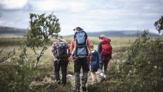 Res med Inlandsbanan till rekreation i Vemdalen