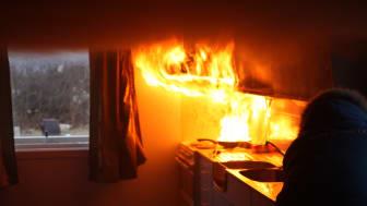 Ferske tall fra Gjensidige viser at brannberedskapen er dårlig i borettslag og sameier.