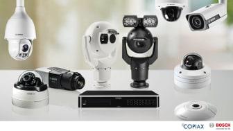 Copiax satsar på utökat kamerasortiment med Bosch som ny leverantör