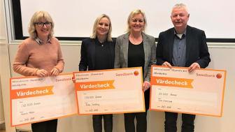 Stipendiaterna: Annelie Möller, Anneli Trello, Anna Sundling och Lars Svensson