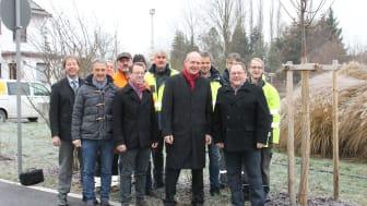 Erste Flamme: Bayernwerk nimmt neue Erdgasleitung in Willmering in Betrieb