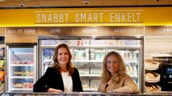 Maria Isaksson, affärsutvecklingschef och Mariette Kristenson, VD, Reitan Convenience Sweden AB