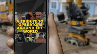 Grävmaskinister världen över fortsätter gräva trots oron utanför hytten – hyllas av Engcon
