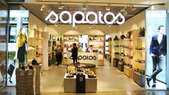 Skobutiken Sapatos öppnar på Arlanda