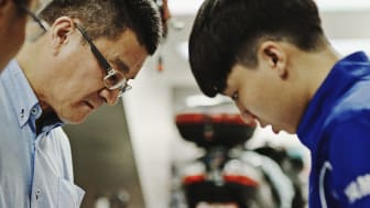 New  documentary movie released!    Vol. 14 Hands Like His Father: Inheriting Skills and Spirit
