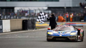 Ford GT vinner Le Mans 24-timmars.