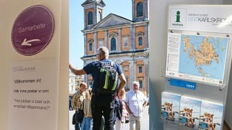 Inför säsongen 2019 finns ett brett utbud av guidade turer i Karlskrona med omnejd, detta och mycket mer fick besökarna ta del av under öppet hus.