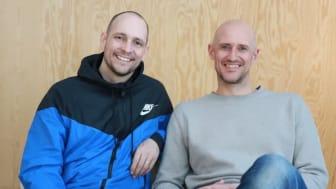 Simon Dahl and Mikael Östberg, founders Memotus.