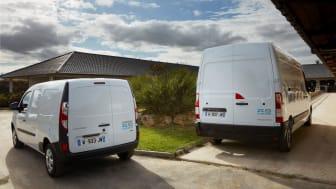 Ny teknologi i Europas mest solgte varebiler