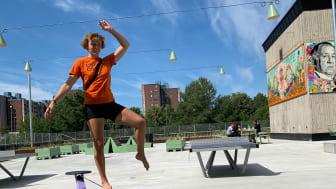 Botkyrkabyggens nya park i Fittja med gratis aktiviteter