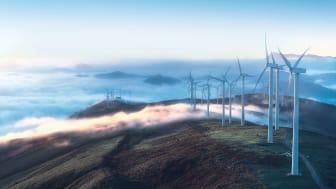 Vindkraft – data för tillgänglighet och produktion