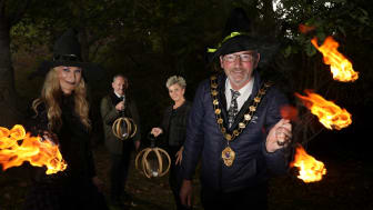 With support from Translink, Caterpillar and P&O Ferries, the Carnfunnock Halloween celebrations will run from 2pm to 6pm on Sat 30 October, when a spooktacular fire sculpture, will bring the evening to a close.