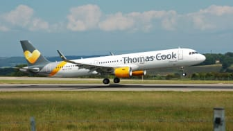 An image of a Thomas Cook plane, image from Wikipedia