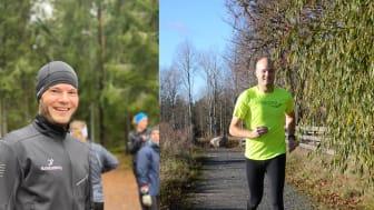 Daniel har i år hunnit med hela tre maraton.