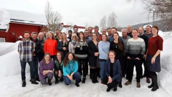 Inspirasjonssamling på Kringler gjestegård 2018. Foto: Lotte Shephard