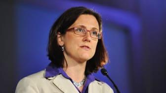 Stadsbiblioteket 7 juni: Gränsöverskridande brottslighet – vad kan EU göra? EU-kommissionär Cecilia Malmström