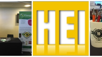 Finegreen Estates team at Healthcare Environment & Infrastructure (HEI) London today!